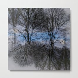 Abstract tress Metal Print