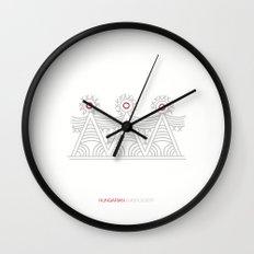 Hungarian Embroidery no.1 Wall Clock