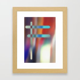Function of a Mirage Framed Art Print