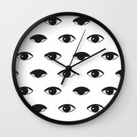 kenzo Wall Clocks featuring B&W EYE by V.F.Store