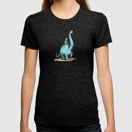 Brachiosaur Rides (Norm the Alligator) T-shirt