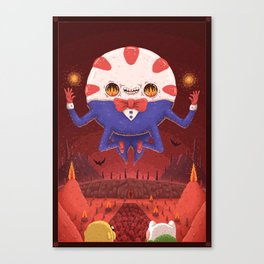 Peppermint Butler: Ruler of the Nightosphere Canvas Print