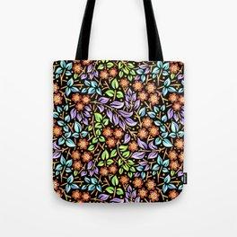 Filigree Floral smaller scale Tote Bag