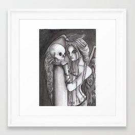 To Love A Mortal Framed Art Print