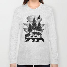 A NIGHT IN ALASKA Long Sleeve T-shirt