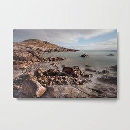 Limeslade Bay and Tut Hill headland Metal Print