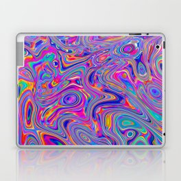 Neon melt Laptop & iPad Skin