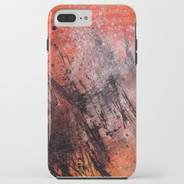 White Dust iPhone Case