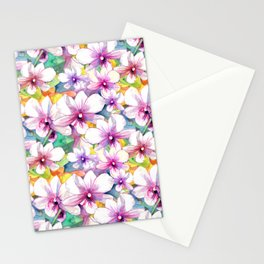 Orchid Delights Design Stationery Cards