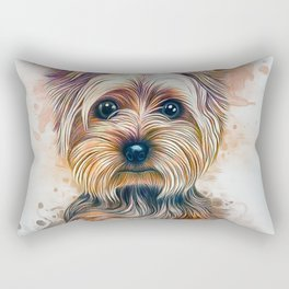 Yorkshire Terrier Rectangular Pillow