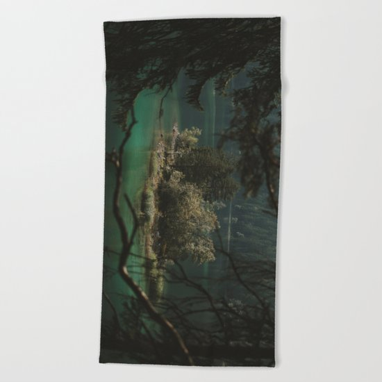 Framed by Nature - Landscape Photography Beach Towel