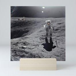 Apollo 16 - Plum Crater Mini Art Print