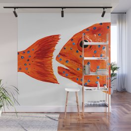 Coral Grouper Wall Mural
