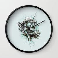 buddha Wall Clocks featuring Buddha by Kevin Roodhorst