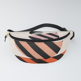 Abstraction_COLOR_BLOCKS_STRIPE_001 Fanny Pack