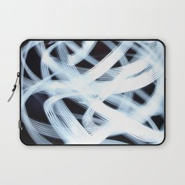 Scribbly Light Swoops Laptop Sleeve