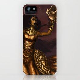 Goddess of Wisdom iPhone Case