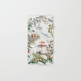 Enchanted Forest Chinoiserie Hand & Bath Towel