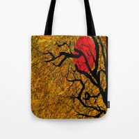 twilight Tote Bags featuring TWILIGHT by aztosaha