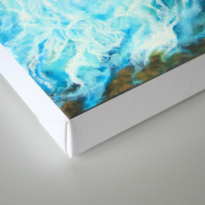 Blue Symphony Canvas Print
