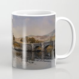 Eilean Donan Castle on a sunny afternoon Coffee Mug