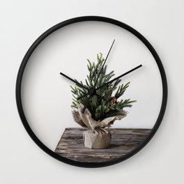 Oh Christmas Tree Wall Clock