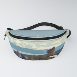 Sacred Stones of Tahoe Fanny Pack