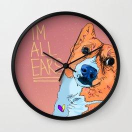 Reba Wall Clock