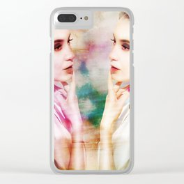Dazed and Confused Clear iPhone Case