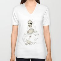 renaissance V-neck T-shirts featuring Renaissance Rocks by Enkel Dika
