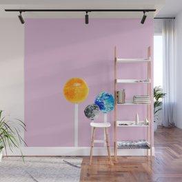 SOLAR SYSTEM LOLLIPOPS Wall Mural