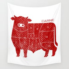 carne Wall Tapestry