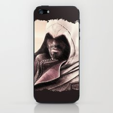 Ezio Auditore from Assassin's Creed - Color Sketch Work iPhone & iPod Skin