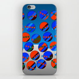 Bubbes Blues iPhone Skin