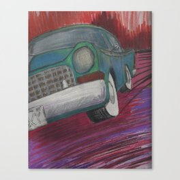 Old Automobile Canvas Print