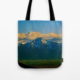 Pioneer Peak - Mat-Su Valley Tote Bag