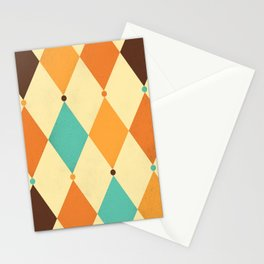 Circus Pattern #2 Stationery Cards
