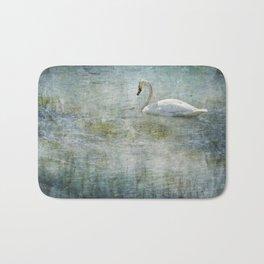 A Swan's Reverie Bath Mat