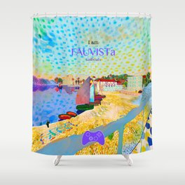 FAUVISTa Sailboats Shower Curtain