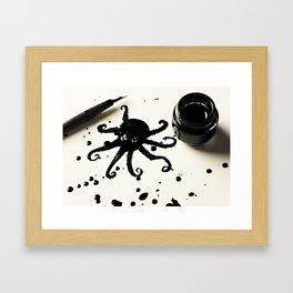 Awktopus Framed Art Print