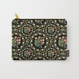 Victorian Flower Crown Carry-All Pouch