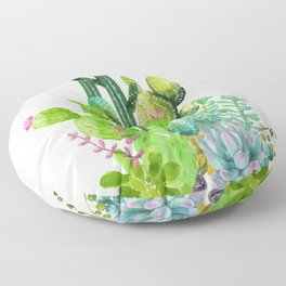 Cactus Garden II Floor Pillow