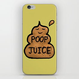 Poop Juice iPhone Skin