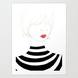 Count Your Stripes Art Print