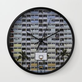 Hong Kong Basketball Wall Clock