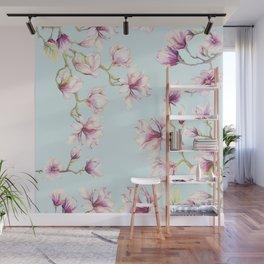 Delicate Magnolia Wall Mural