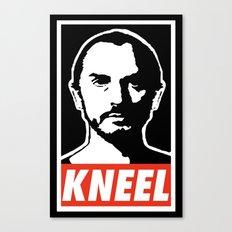 Obey Zod Canvas Print