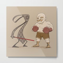 Tie Fighter Metal Print