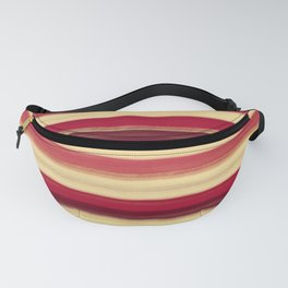 Abstract lines with party pie colors Fanny Pack