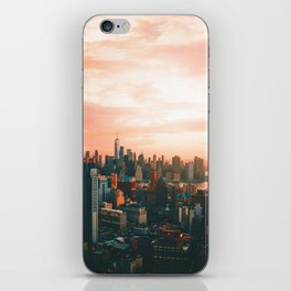 Sunset City (Color) iPhone Skin